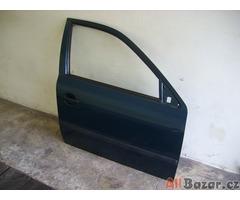 Pravé přední dveře Škoda Octavia I 1996-2004 zelené