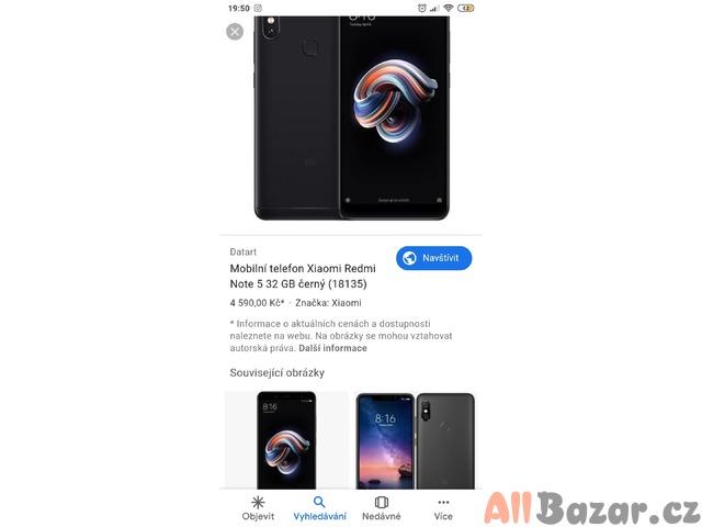 Prodám nebo vyměním Xiaomi redmi note 5 32 gb