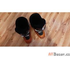 Lyžařské boty dětské Salomon vel 36-37