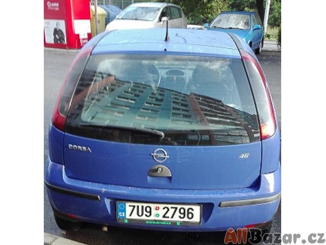 Prodám OA Opel Corsa C 1.0