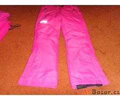 zateplené kalhoty šustákové