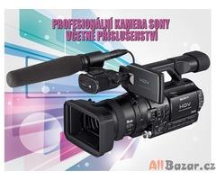 Profesionální kamera SONY HVR-Z1 včetně velkého příslušenství