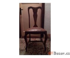Židle dřevěná ,