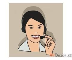 Operátorka pro hlasový a SMS chat - práce z domu