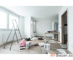 Rekonstrukce a vymalování bytů/kanceláří v Praze a okolí.