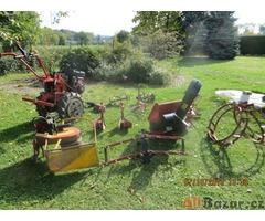 Prodám benzinový kultivátor MS 06 s příslušenstvím, málo používaný dle foto
