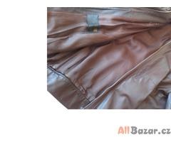 Kožená retro bunda vel.S-M na motorku