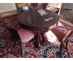 Sekretář+židle+křesla+gauč+stůl
