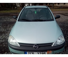 Opel Corsa 1,0i, 12 V, typ C, kategorie M1, rok výroby 2001, STK 7/2021