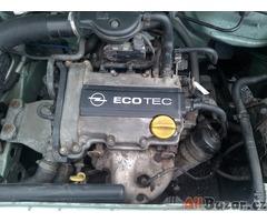 Prodám Opel Corsa, typ C, kategorie M1, rok výroby 2001, STK 7/2021