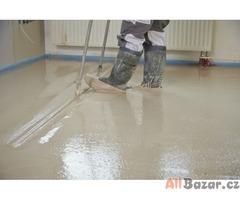 Lité anhydritové podlahy kvalitně, rychle, levně