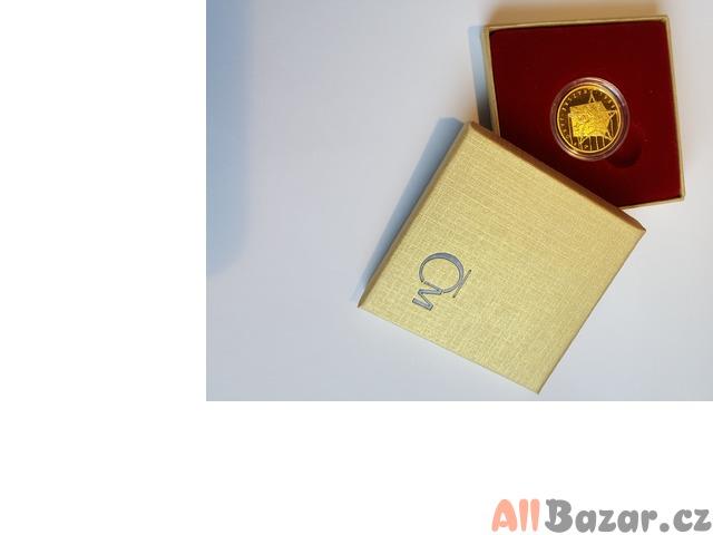 Zlatá mince převratné osmičky našich dějin