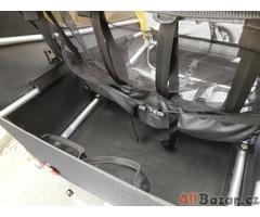 Burley d´lite dvoumístný odpružený dětský vozík s kočárkovým setem