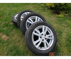 ALU DISKY +letní pneu-vhodné na fábii