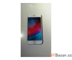 iPhone 6S 64 GB Silver TOP STAV + sklo a obal zdarma