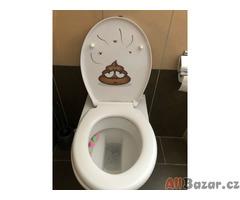 Samolepící 3D obrázek / dekorace na WC