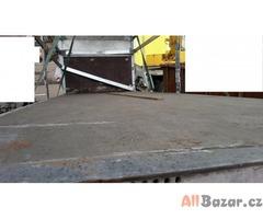 korba 7.2 x 2.5 x 2.4 m (čelo plachta