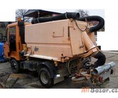 special sklápěč ZAMETAČ kanalizace Multicar 26
