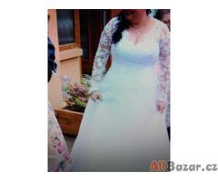 Prodám svatební šaty vel. 44-46