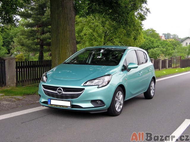 Opel Corsa Drive 1,2i 16V 1 Maj. s. knha ČR 2016 36000 Km