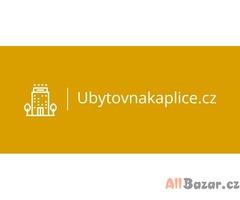 UbytovnaKaplice.cz ceny od 130.-Kč/ den
