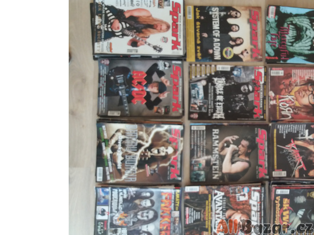Rockové časopisy