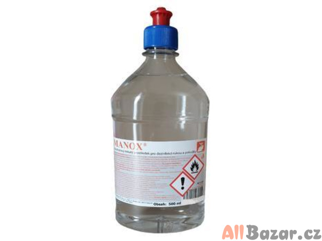Dezinfekce na ruce MANOX 500ml PUSH – PULL