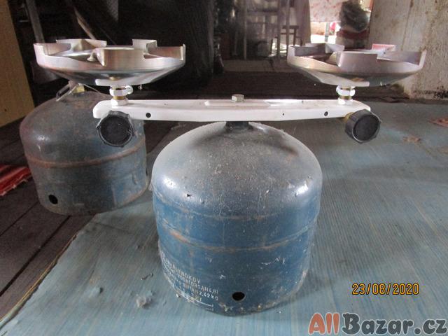 dvouplotýnkový plynový vařič