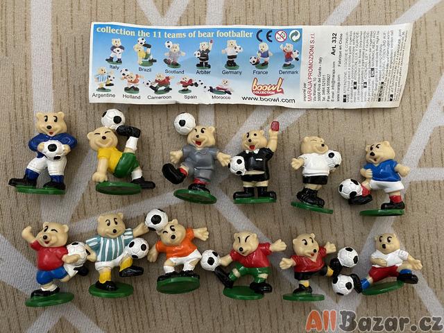 Figurky Kinder fotbal