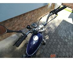 Sunway chopper - kolo s pomocným motorem