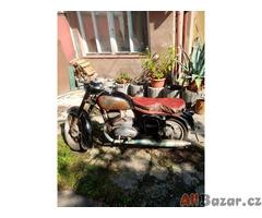 Prodám motocykl CZ-175 veterán