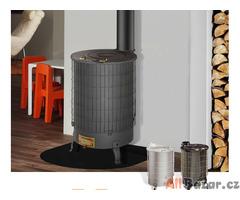 Kvalitní, výkonná kamna na veškerou dřevní hmotu. Výkon až 16 kW !