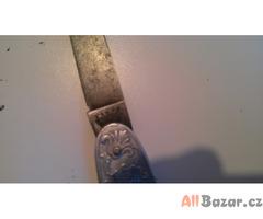 stříbrný nožík československo frenzel josef franz