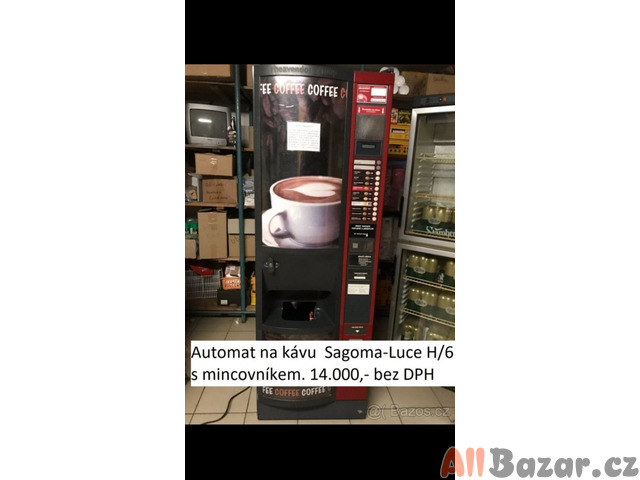 Automat na kávu Sagoma-Luce H6