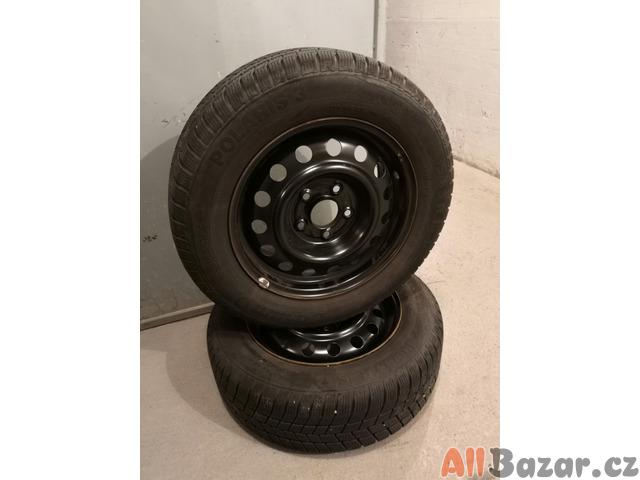 Zimní pneu+ocelový ráfek