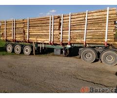 Palivové dřevo smrk 370 Kč metr