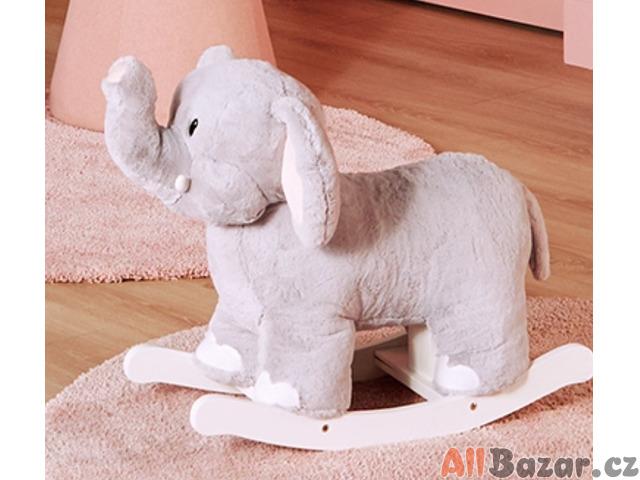 Houpací plyšový slon (minimálně používaný)