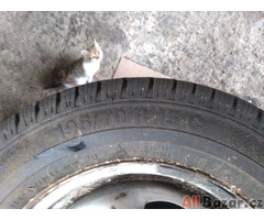 zimní gumy na ráfku pro ford tranzit