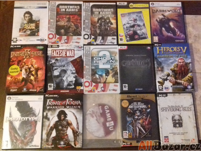 Starší hry na počítač