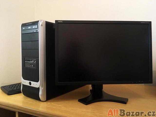 PC + monitor + klávesnice