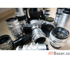 Koupím staré fotoaparáty, kamery, promítačky i poškozené