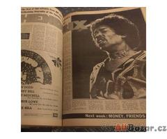 Melody Maker svázaný ročník 1972