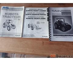 Traktor Kubota M8560 s čelním nakladačem bez močoviny