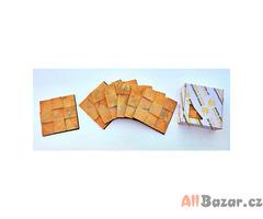 dřevěný obklad čtverec 3D 12x12 cm
