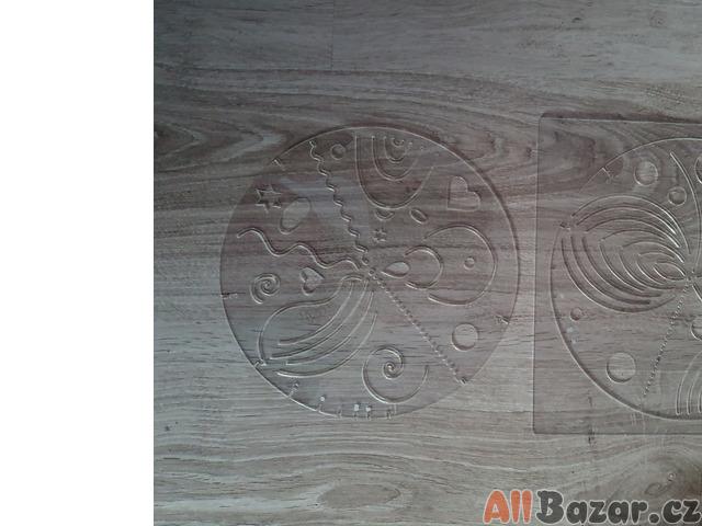 2 velké šablony na tvoření mandal i s kruhem