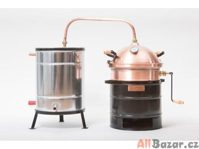 Destilační přístroj Destilátor, Palírna, Lihovarník, Vinopal
