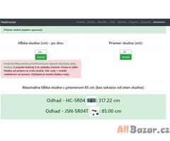 Hladinomer - Arduino + Ethernet / ESP8266 / ESP32 / Sigfox