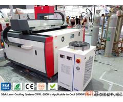 Priemyselný recirkulačný chladič pre 1KW laserovú rezačku vlákien