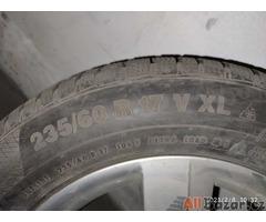 ALU kola 235/60 R17 Continental zimní
