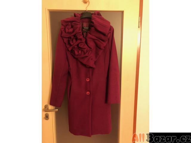 Dámský kabát fialový